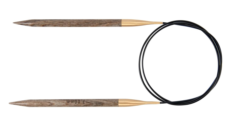 Lana Grossa Rundstricknadel Design-Holz 60cm 2,0mm
