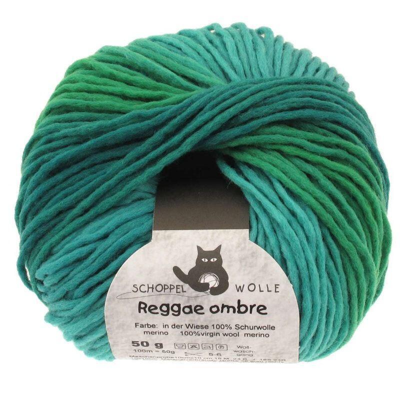Schoppel Wolle 50g Reggae ombre 2202 Pustekuchen