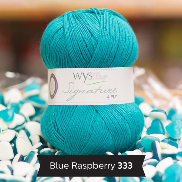 "West Yorkshire Spinners Signature 4ply  ""Sweet Shop "" Farbe: Blue Raspberry"