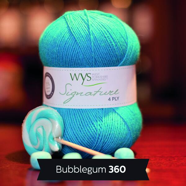 "West Yorkshire Spinners Signature 4ply  ""Sweet Shop "" Farbe: Bubblegum"