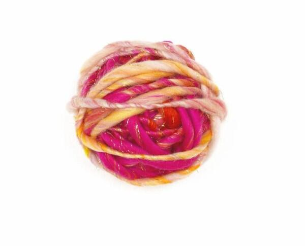 "Knit Collage -  ""Swirl "" Farbe: Pink Punch"