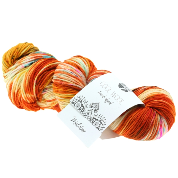 Lana Grossa Cool Wool Hand Dyed LIMITED EDITION Farbe: 101 Malabar