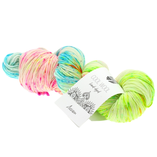 Lana Grossa Cool Wool Hand Dyed LIMITED EDITION Farbe: 103 Assam