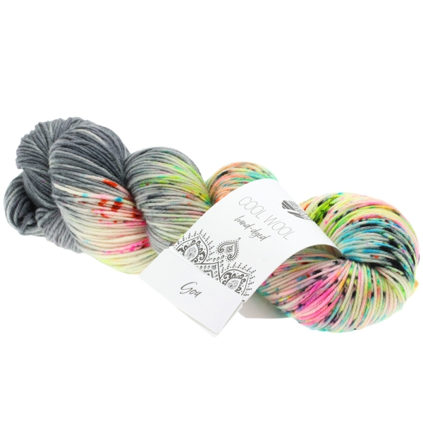 Lana Grossa Cool Wool Hand Dyed LIMITED EDITION Farbe: 105 Goa