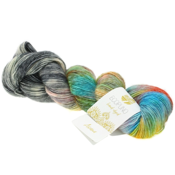 Lana Grossa Ecopuno hand-dyed LIMITED EDITION Farbe: 503 Asana