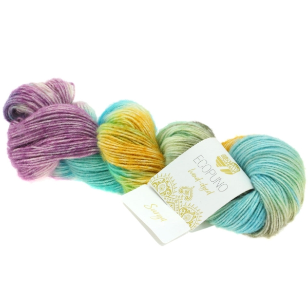 Lana Grossa Ecopuno hand-dyed LIMITED EDITION Farbe: 507 Surya