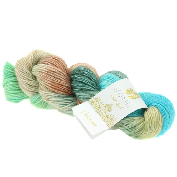 Lana Grossa Ecopuno hand-dyed LIMITED EDITION Farbe: 509 Chandra