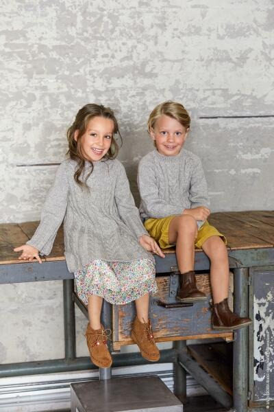 Lana Grossa - Heft Kids Nr. 11 Modelbeispiel Cool Wool big