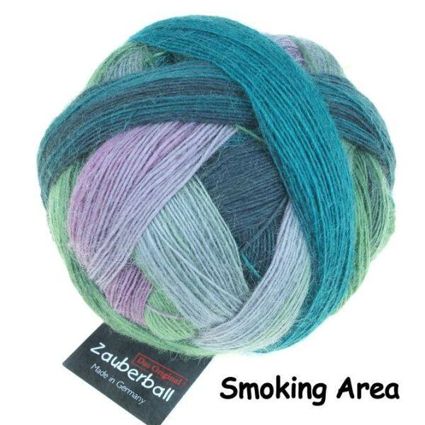 Schoppel Zauberball - Single Version - 4-fach Sockengarn Farbe Smoking Area